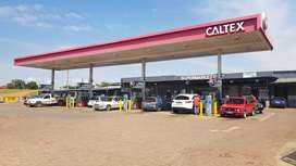 Shops to let at Caltex Jouberton R2500
