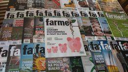 Czasopismo, miesięcznik dla rolników Farmer 2014…2017 + gratisy