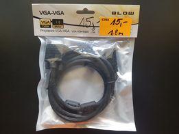 Kabel VGA-VGA 1,8m firmy blow