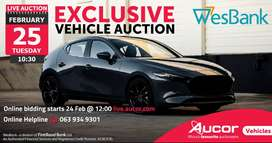 WesBank Exclusive Vehicle Auction