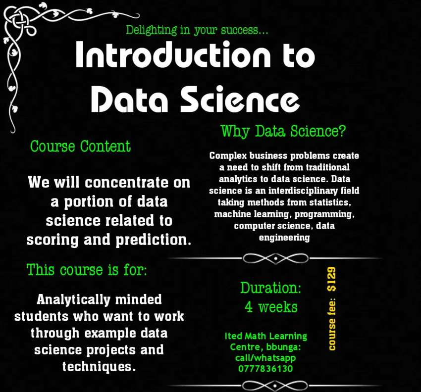 Introduction to Data Science 0