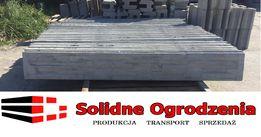 PROMOCJA Producent Podmurówka betonowa ŁUPANA 200x25x5 PANEL, SIATKA