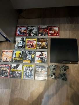 Play station 3 /slim/250gb/41games