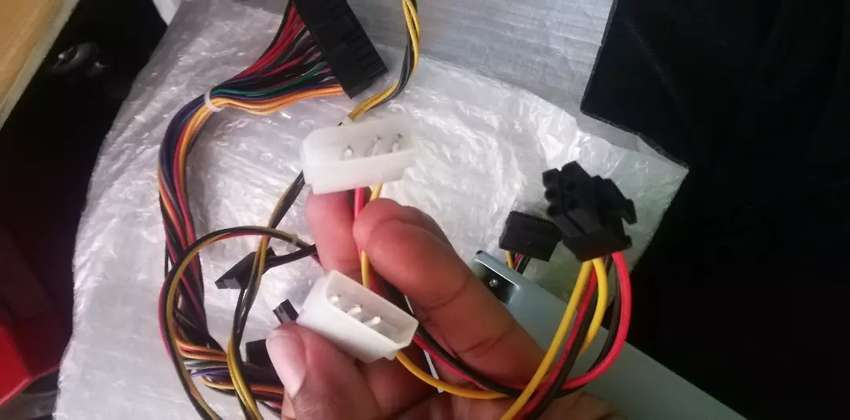 450w power supply and an extra code 0