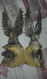 статуэтка орел деревянный