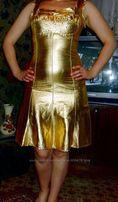 """Золотое платье из салона """"Миледи"""" на выпускной, вечернее"""