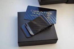 Карбоновая клипса для денег.Зажим для денег Carbon