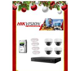 CCTV SYSTEM - NETWORK IP 4 channe