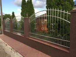 Ворота / забор з нержавіючої сталі / металу / Ворота с нержавейки