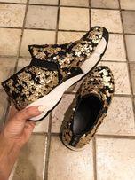 Sneakersy Uma Parker r.37 stan idealny cekiny trampki