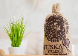 TUSKANI CELESTE итальянский кофе в зернах. РАВНЫХ ему НЕТ! зерновой.