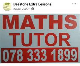 MATHS ENGLISH TUTOR
