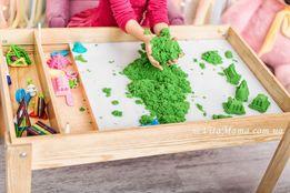 Световая Песочница детский стол, игровой развивающий столик, планшет