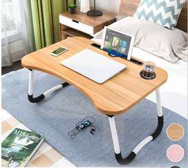 New! Adjustable Laptop Stand Folding Portable Computer for Bed Sofa De