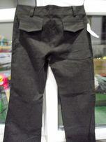 nowe spodnie brązowe 40