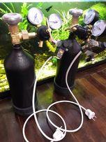 Оборудование СО2 для аквариума камоци баллон углекислотный балон камоз
