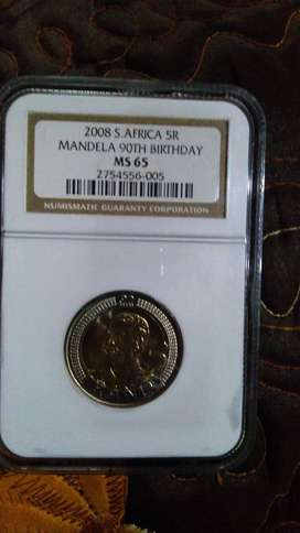 Rare MS65 uncirculated 2008 R5 Coin