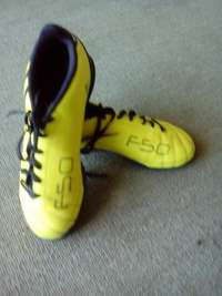 Image of Adidas F50 turf soccer shoes