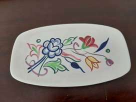 Poole pottery spoon rest
