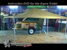 Conqueror - 6x6 Tent + side panels ( tent over Trailer Top Tent)