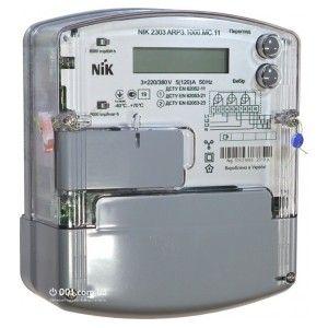 Новый электросчетчик NIK 2303 ARP3.1000.MС