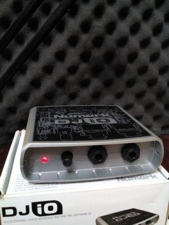 USB звуковая карта, аудио интерфейс, Numark DJ IO