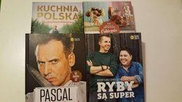 Książki Lidla: Ryby są super, Cukiernia Lidla, Kuchnia Polska, Pascal