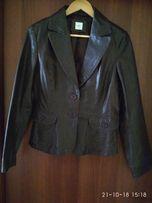 Женский кожаный пиджак New Look