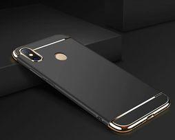 Чехол с золотыми вставками на для Xiaomi Redmi Note 6 Pro / F1 / Mi 8