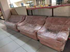 Used Genuine Leather Couches/Sofa