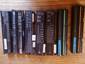 Used laptop batteries