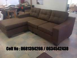 3 seater L - shaped couch