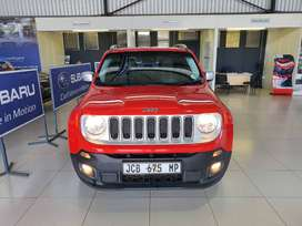 Red Jeep Renegade 1.4 TJet Limited