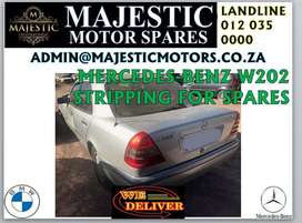 Mercedes-Benz w202 stripping for spares