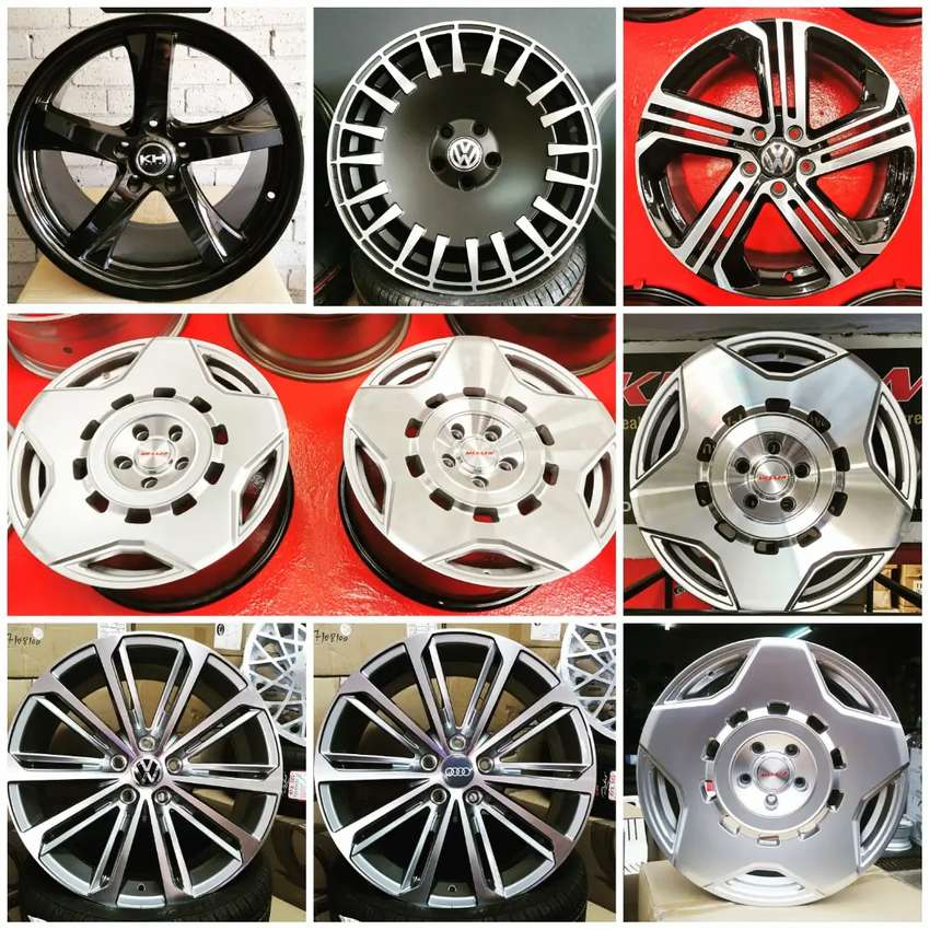"""WICKED SALE NOW ON: 18"""" 5x112 Fitment Wheels Reduced 0"""