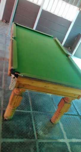 Pool and Snooker Table Maintenance