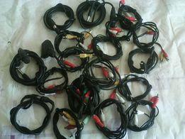 Продам кабели,шнуры,переходники,удлинители для аудио,видео и компа