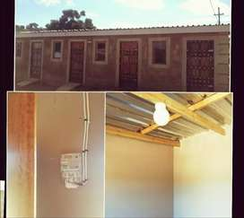 brand new cottages to rent in Inanda@R500.