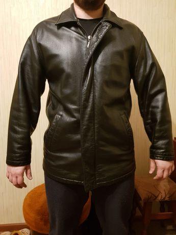 Кожаная куртка-трансформер р.L состояние новой Киев - изображение 1