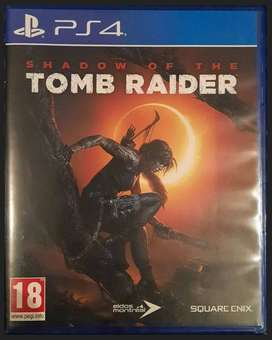 PS4 SHADOW OF THE TOMB RAIDER (As New)