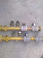 Блок газовых клапанов 40мм с датчиками и катушками