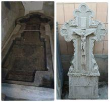 Памятники(стеллы по 500 руб)и формы из ПХВ для изготовления памятников