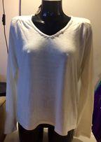 Nowy sweterek na święta biały