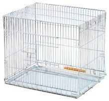 Клетка для собак,кошек с ручкой-складывается ( новая со склада)63х50х5