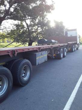 2012 SA truck bodies Plat-deck super-link for sale very good condition