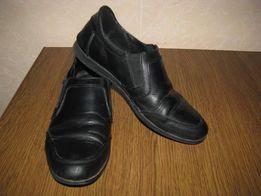 Туфли кожаные, подросток, 38 размер (цену снижено)