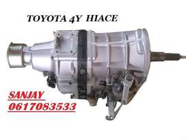 BRAND NEW TOYOTA HI-ACE 2200 GEARBOXES - 4Y