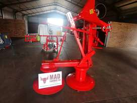New 1.65m Mechanical or hydraulic drum mowers available