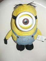 minionek STUART jednooki duży pluszowy maskotka zabawka