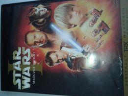Filmy DVD Star Wars I, II, III, IV